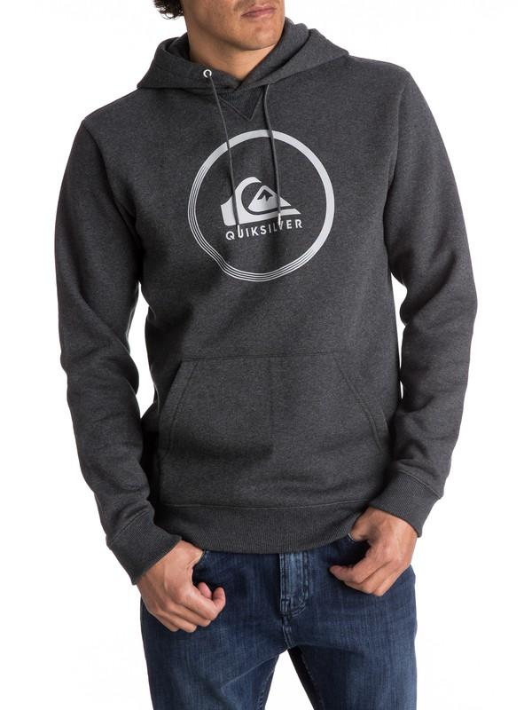 0 Big Logo - Sudadera Con Capucha para Hombre Negro EQYFT03717 Quiksilver 14780768428