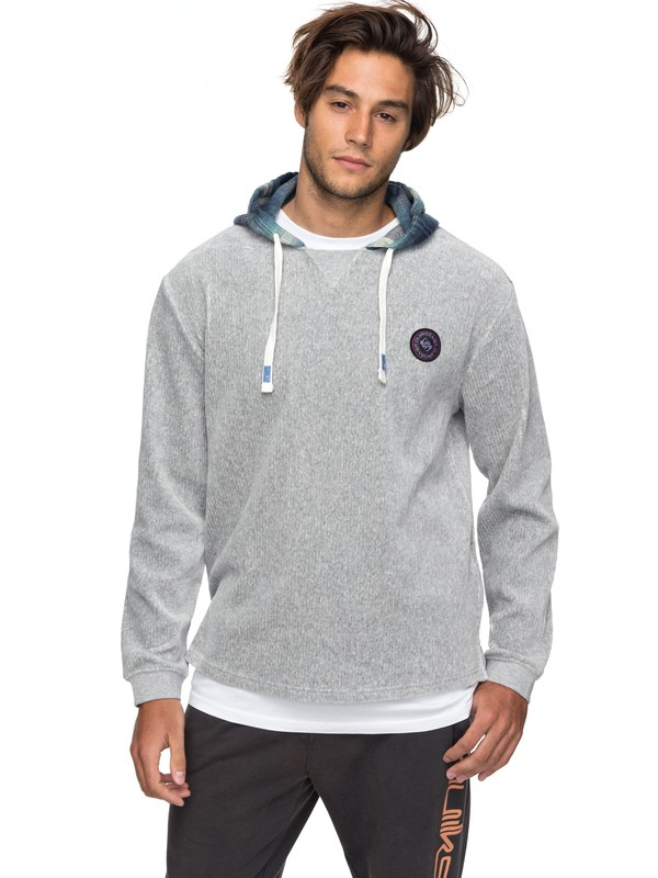 0 Diamond Tail After Surf Hoodie Grey EQYFT03750 Quiksilver