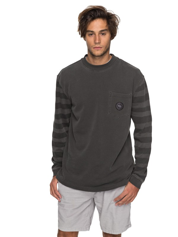 0 Wave Runner - Sweat pour Homme  EQYFT03752 Quiksilver