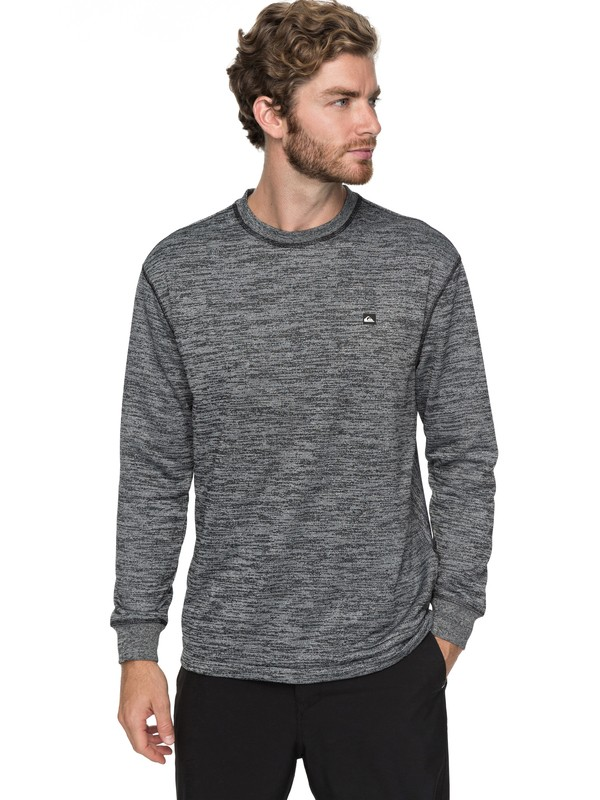 0 Kurzo - Sweat technique Noir EQYFT03754 Quiksilver