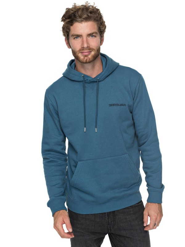 0 Critical Dates Hoodie Blue EQYFT03758 Quiksilver