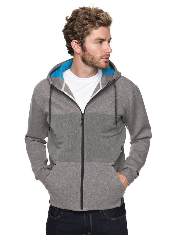 0 Highland Gaze - Sweat à capuche zippé pour Homme  EQYFT03763 Quiksilver