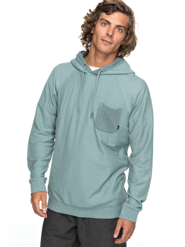 0 Baao - Hooded Sweatshirt for Men Blue EQYFT03767 Quiksilver