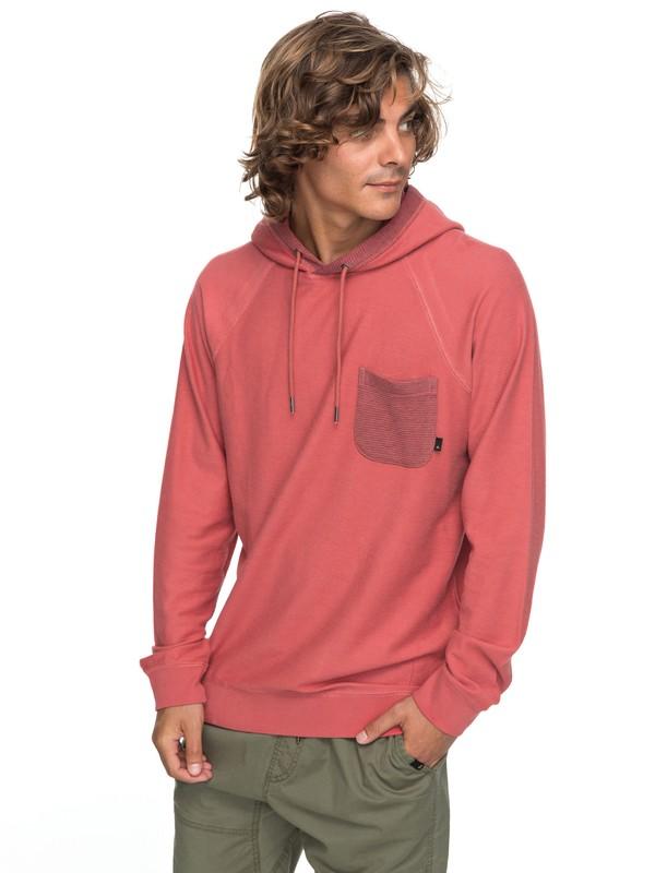 0 Baao Hooded Sweatshirt Pink EQYFT03767 Quiksilver