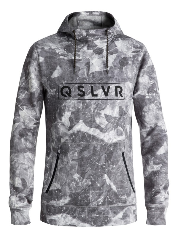0 Freedom Technical Hoodie Black EQYFT03809 Quiksilver