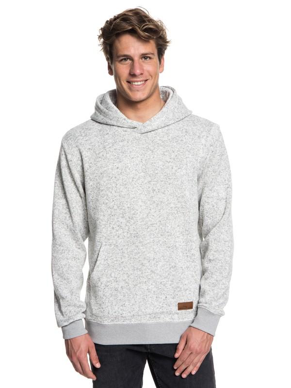 0 Keller Polar Fleece Hoodie Grey EQYFT03836 Quiksilver