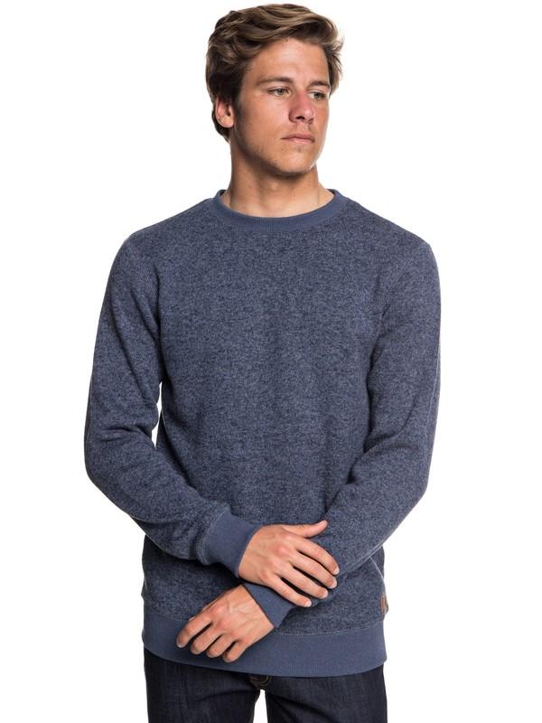0 Keller - Polar Fleece Sweatshirt  EQYFT03837 Quiksilver