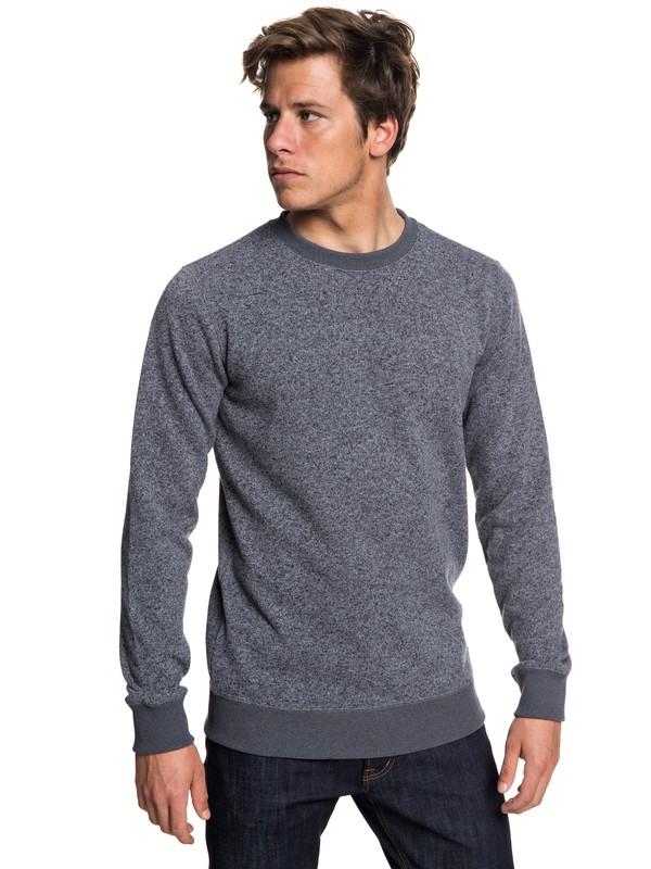 0 Keller Polar Fleece Sweatshirt Black EQYFT03837 Quiksilver