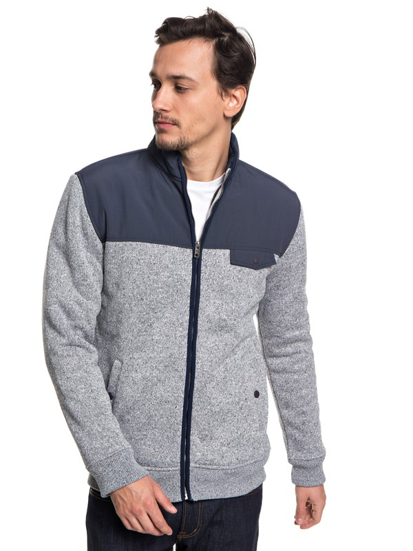 0 Keller - Zip-Up Polar Fleece  EQYFT03838 Quiksilver