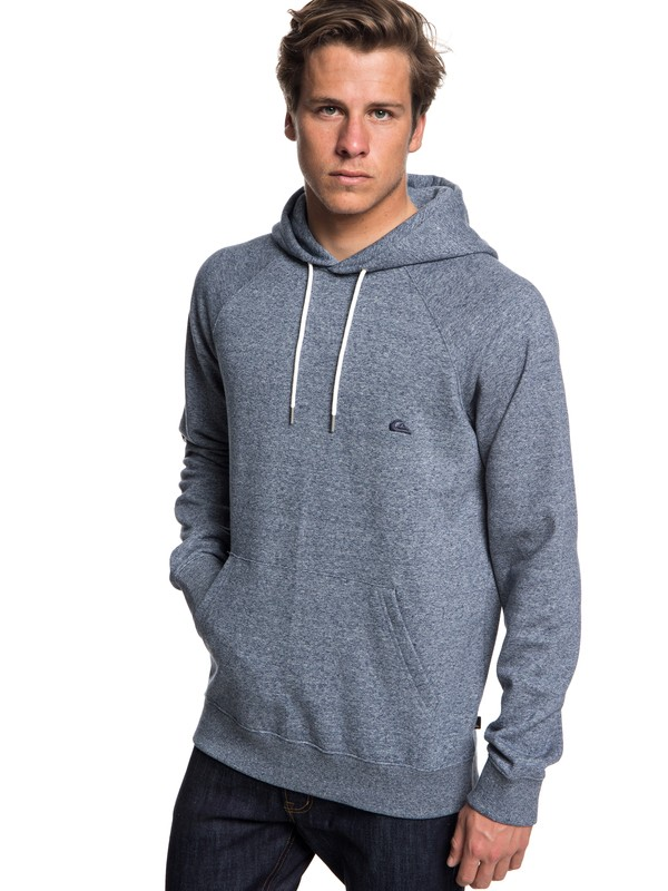 0 Everyday - Hoodie Blue EQYFT03846 Quiksilver