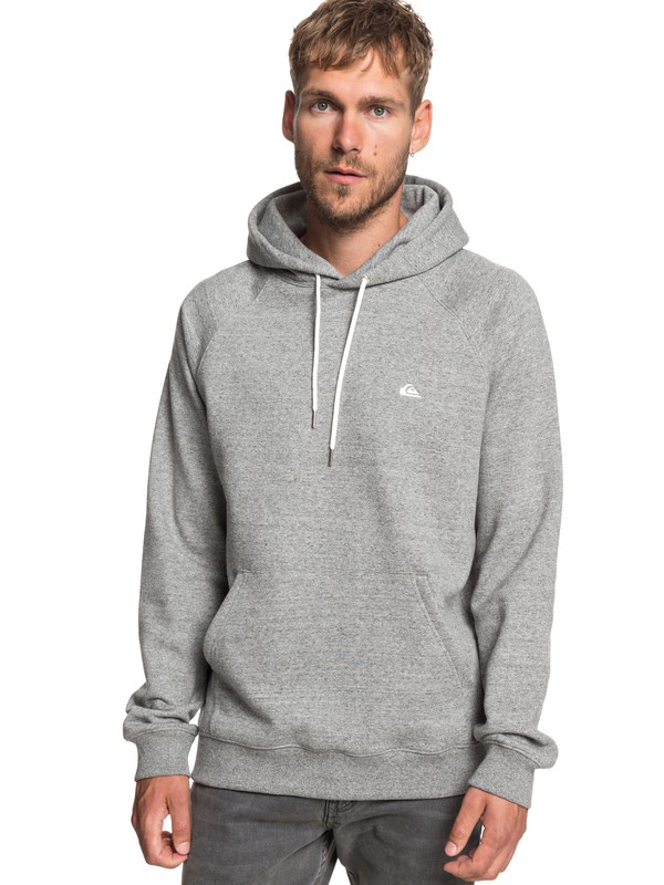 0 Everyday Hoodie Grey EQYFT03846 Quiksilver
