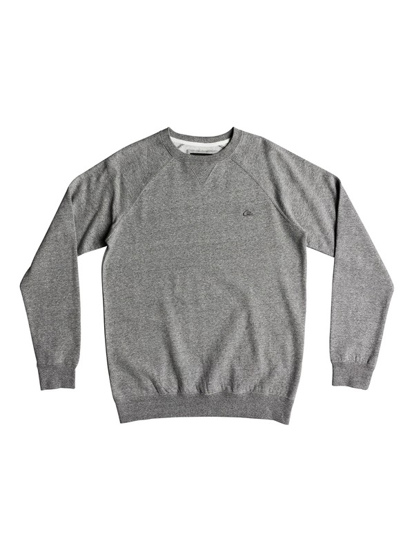 0 Everyday - Sweatshirt for Men Gray EQYFT03847 Quiksilver