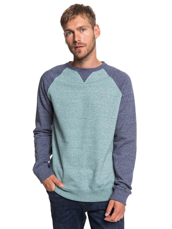 0 Everyday - Sweatshirt for Men Blue EQYFT03847 Quiksilver