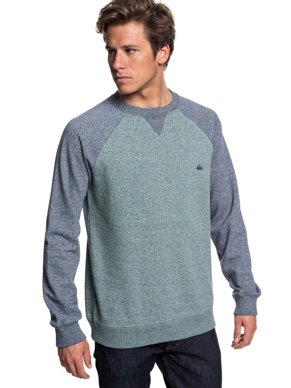 0 Everyday - Sweatshirt for Men Blue EQYFT03847 Quiksilver