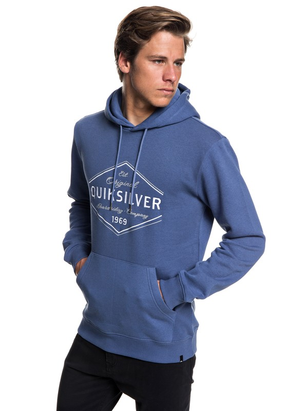 0 Nowhere North Hoodie Blue EQYFT03857 Quiksilver