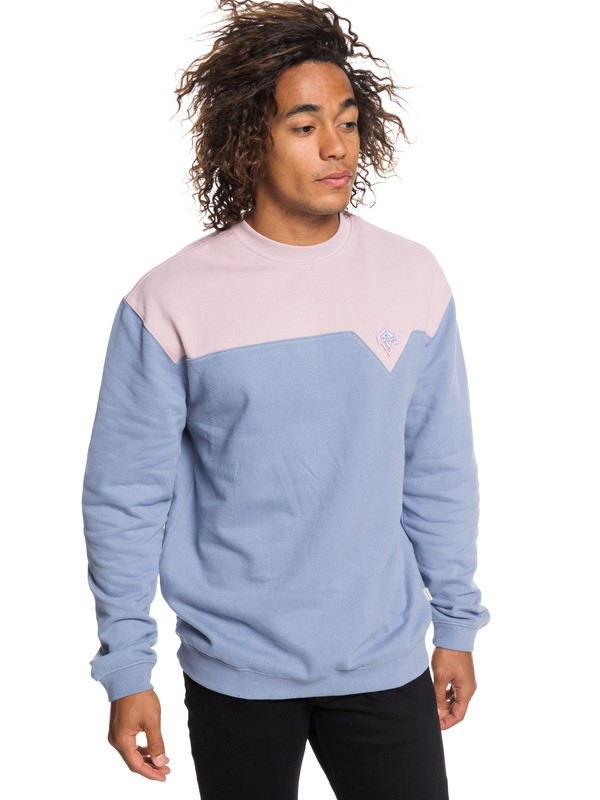 0 Originals Sweatshirt Blue EQYFT03918 Quiksilver