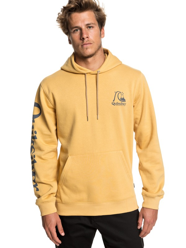 0 Spring Roll Hoodie Yellow EQYFT03972 Quiksilver