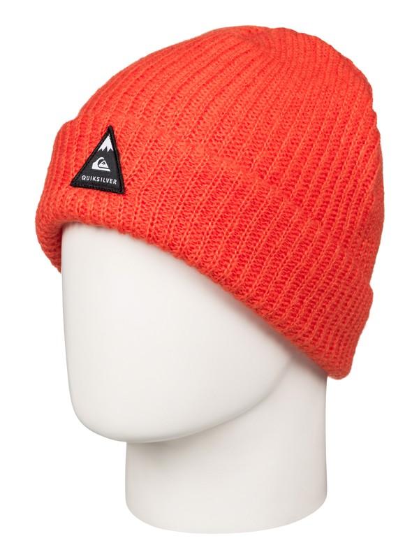 0 Routine - Bonnet à revers Orange EQYHA03030 Quiksilver