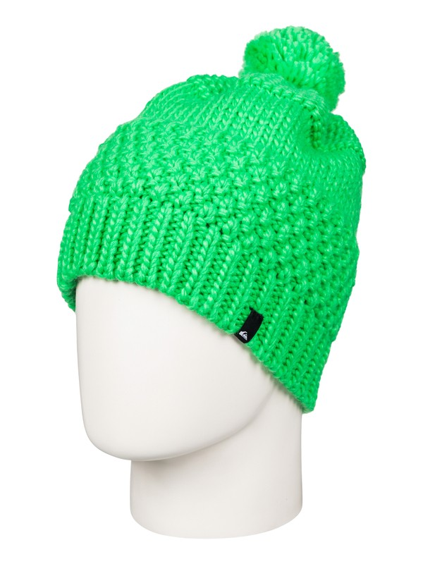 0 Planter - Bonnet à pompon Vert EQYHA03032 Quiksilver