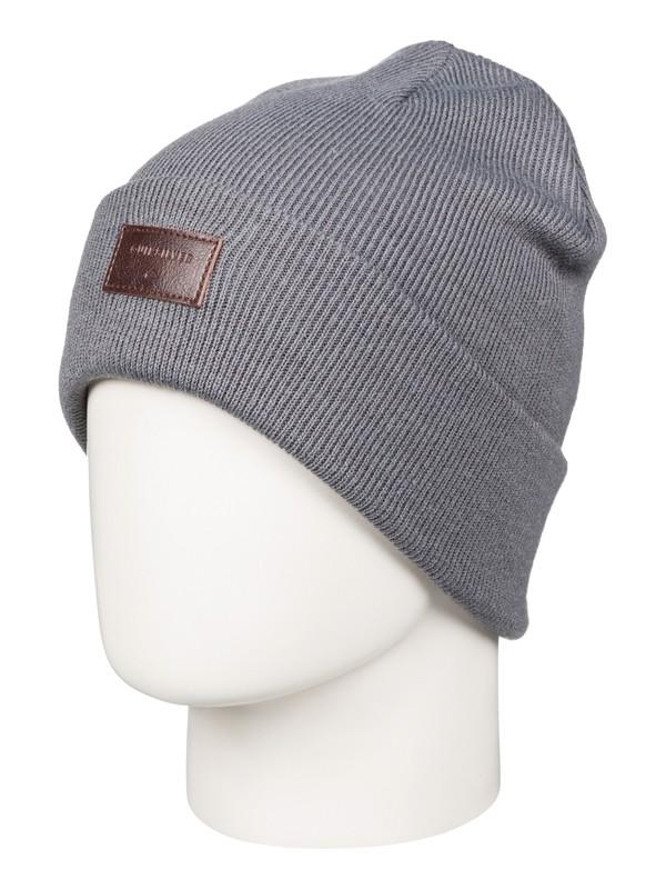 0 Brigade - Bonnet à revers Noir EQYHA03038 Quiksilver