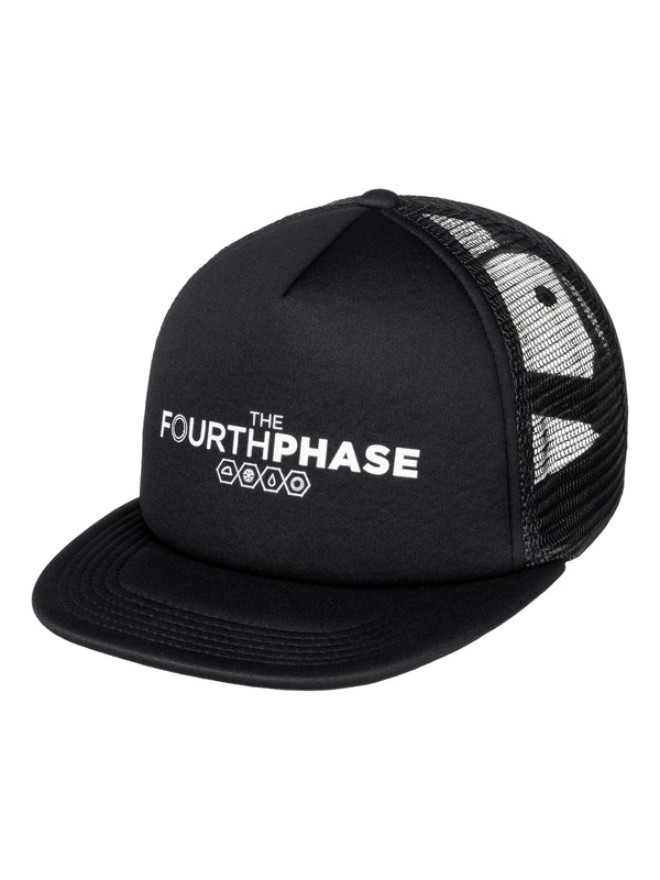 0 The Fourth Phase Trucker Hat  EQYHA03057 Quiksilver