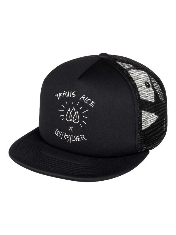 0 Travis Rice Trucker Hat  EQYHA03060 Quiksilver