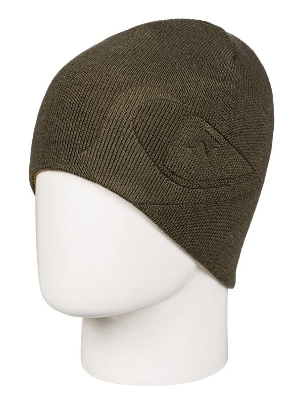 0 M&W - Bonnet réversible Marron EQYHA03070 Quiksilver