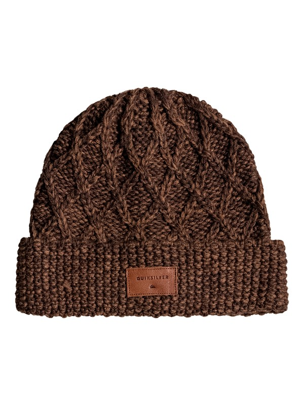 0 Performed Interest Beanie Brown EQYHA03096 Quiksilver