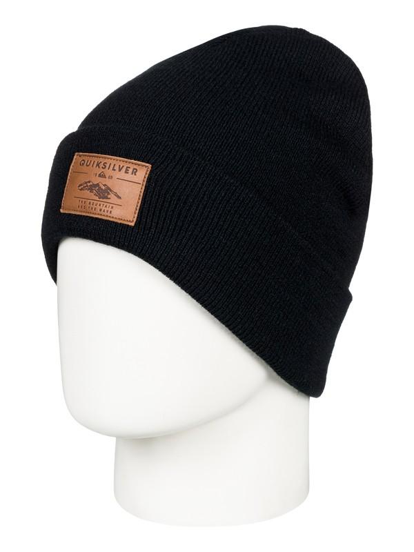 0 Brigade - Bonnet pour Homme Noir EQYHA03160 Quiksilver