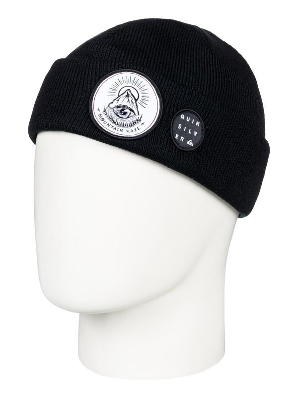 0 Snow Mystery - Bonnet pour Homme Noir EQYHA03168 Quiksilver