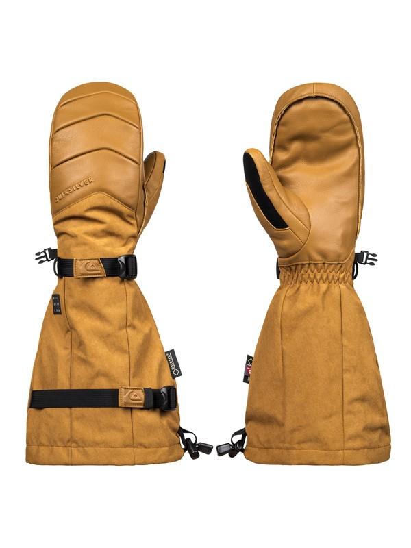 0 Powder Snowboard/Ski Gloves Brown EQYHN03103 Quiksilver