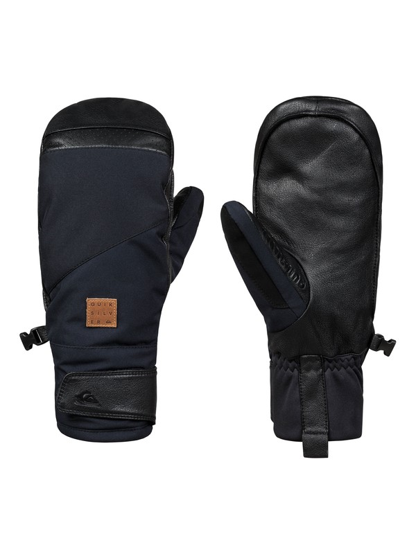 0 Squad Snowboard/Ski Mittens Black EQYHN03106 Quiksilver