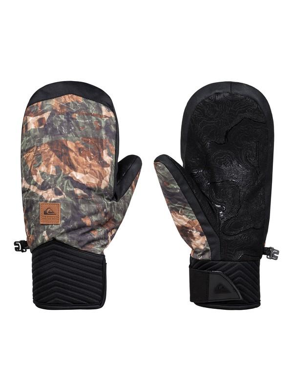 0 Method Snowboard/Ski Gloves Brown EQYHN03109 Quiksilver