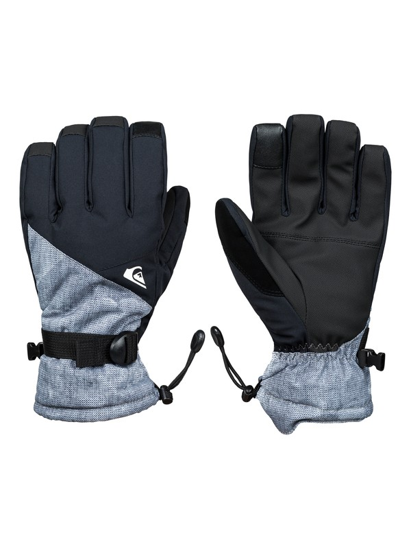 0 Mission Snowboard/Ski Gloves Black EQYHN03111 Quiksilver