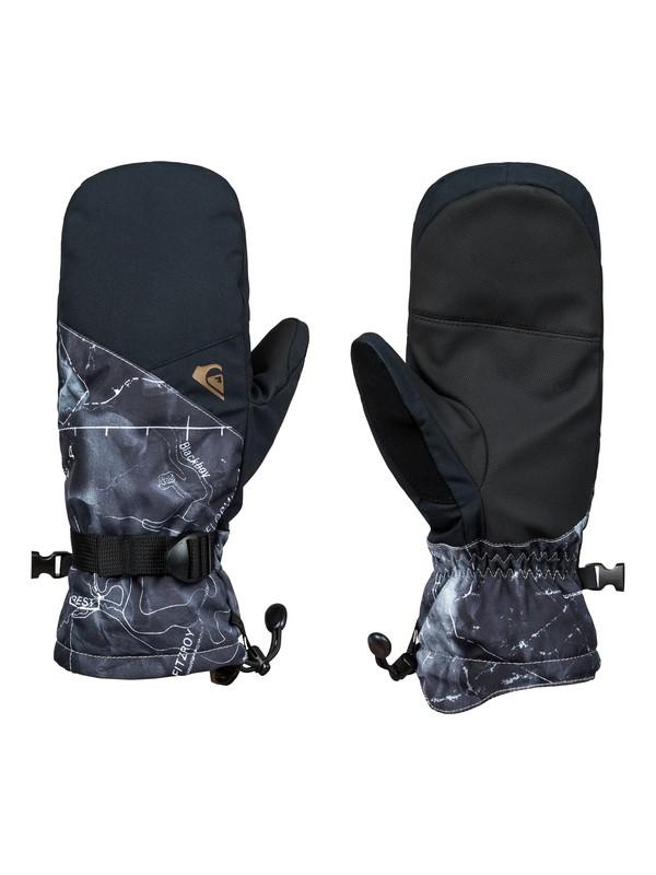 0 Mission Snowboard/Ski Gloves Black EQYHN03112 Quiksilver