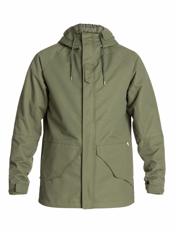0 The Elion 3 In 1 Jacket  EQYJK03039 Quiksilver
