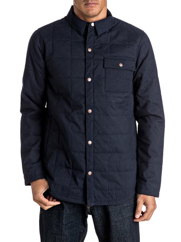 0 Agent - Veste chemise d'isolation thermique  EQYJK03210 Quiksilver