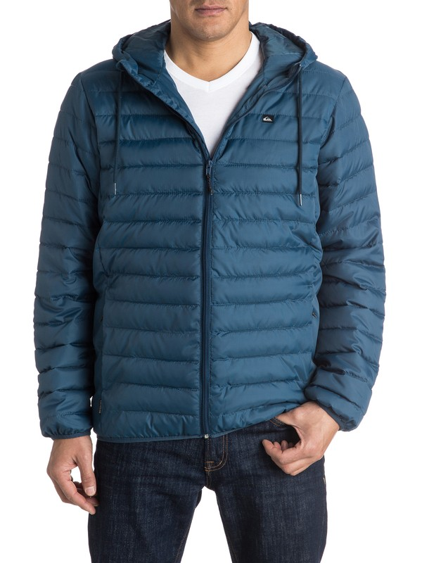 0 Everyday Scaly - Hooded Insulation Jacket for Men  EQYJK03234 Quiksilver