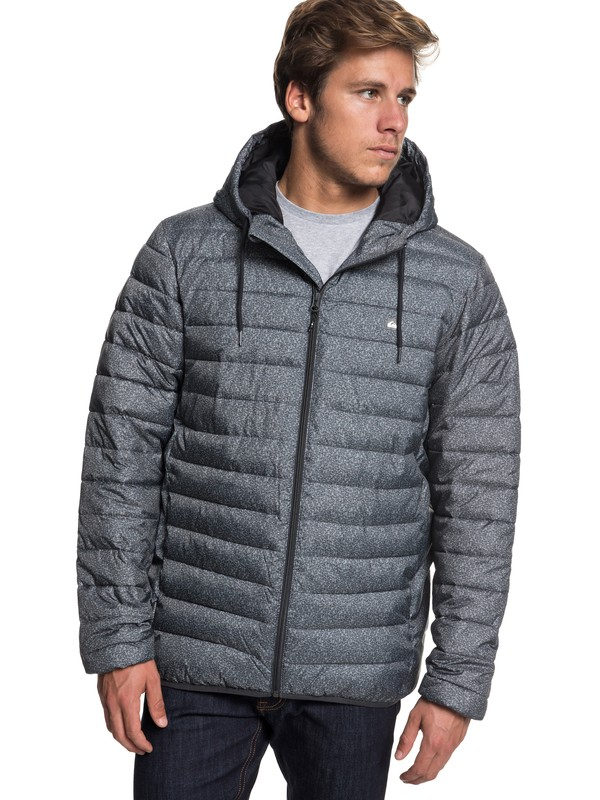 0 Куртка Everyday Scaly Черный EQYJK03234 Quiksilver