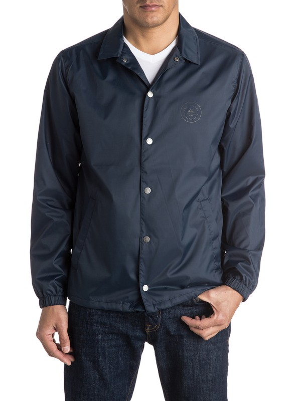 0 Always Surfing Coach Jacket  EQYJK03239 Quiksilver