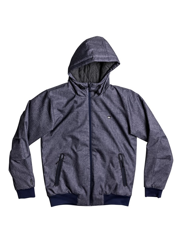 0 Brooks 5K Waterproof Bomber Jacket  EQYJK03241 Quiksilver