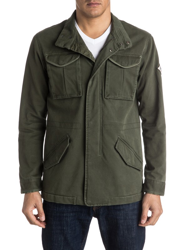 0 New hatital Military Jacket  EQYJK03242 Quiksilver