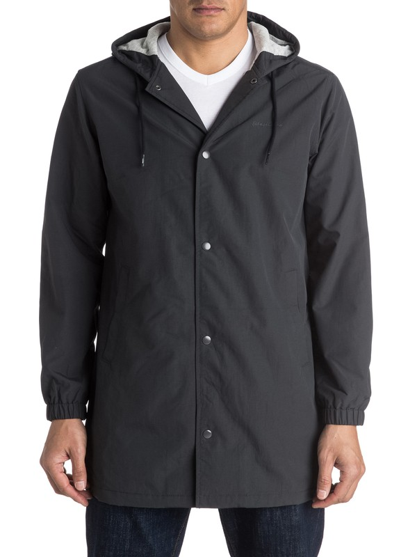 0 Tricky Nation Long Coach Jacket  EQYJK03248 Quiksilver