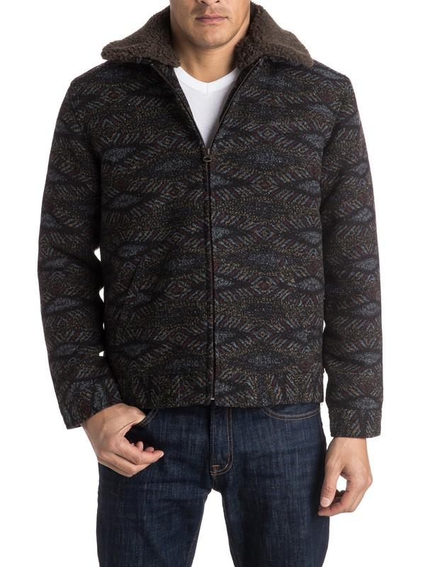 0 Old Boss Wool Harrington Jacket  EQYJK03255 Quiksilver
