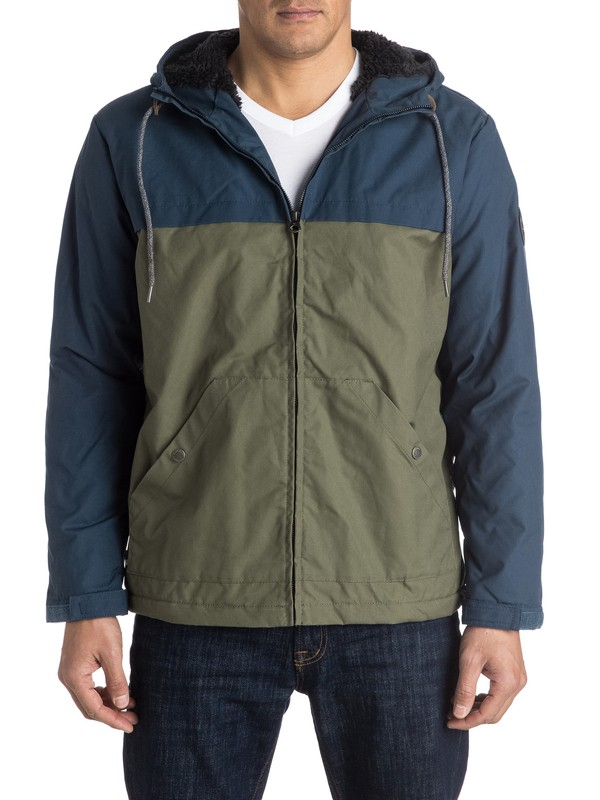 0 Wanna Block - Jacket  EQYJK03258 Quiksilver
