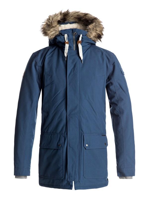 0 Ferris - Waterproof Parka Jacket Blue EQYJK03332 Quiksilver