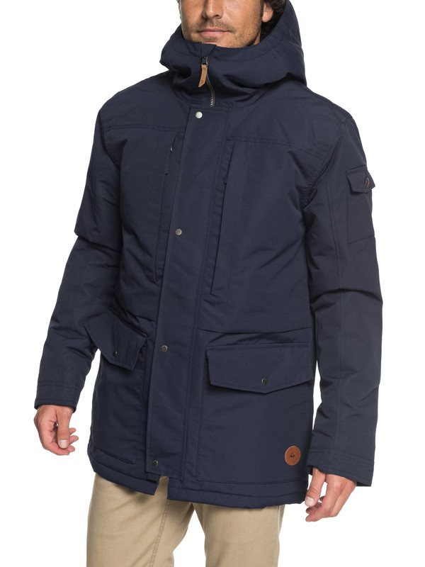 0 Canyon - Waterproof Hooded Jacket  EQYJK03334 Quiksilver
