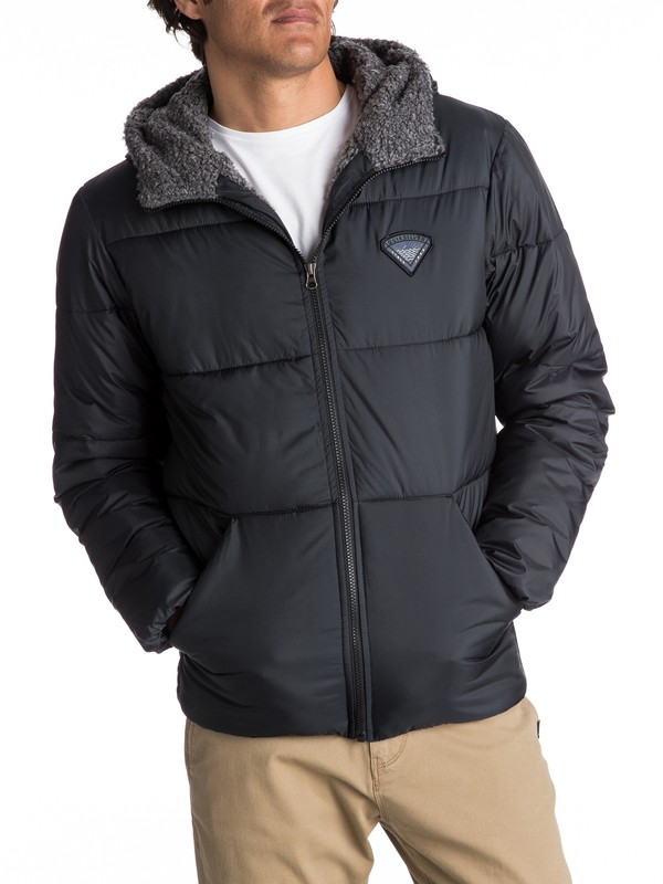 0 Yana Ki - Stepp-Jacke für Männer Schwarz EQYJK03346 Quiksilver