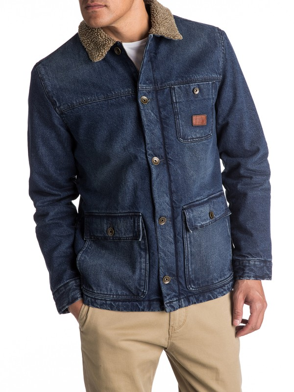 0 Hata Longa Denim Deck Jacket  EQYJK03347 Quiksilver