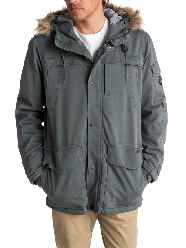 0 Storm Drop 5K Waterproof Winter Parka  EQYJK03352 Quiksilver